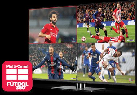 Multi Channel - Fútbol 360 - Winston Salem, NC - Barsat - Distribuidor autorizado de DISH