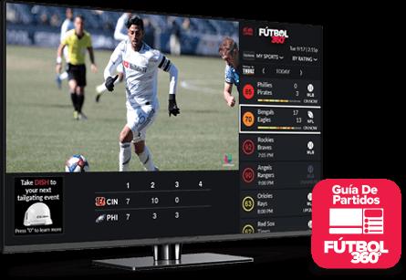Guía de partidos - Fútbol 360 - Winston Salem, NC - Barsat - Distribuidor autorizado de DISH