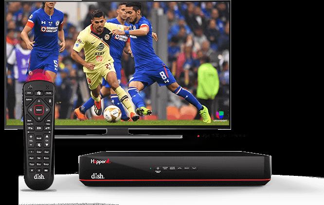 DISH Hopper DVR - Control remoto de voz - Winston Salem, NC - Barsat - Distribuidor autorizado de DISH