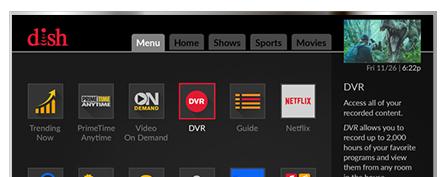 Vea television con DISH - Barsat en Winston Salem, NC - Distribuidor autorizado de DISH